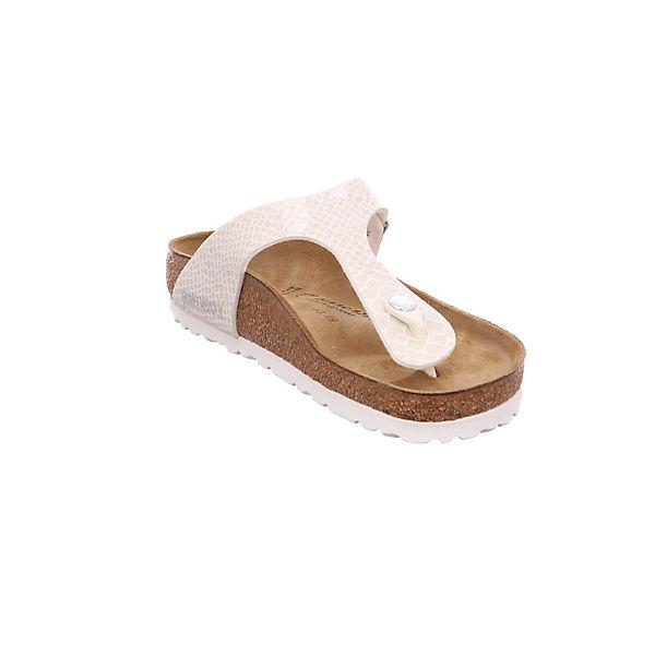 BIRKENSTOCK, Gizeh 1009115 Zehentrenner, weiß Schuhe  Gute Qualität beliebte Schuhe weiß b6df69