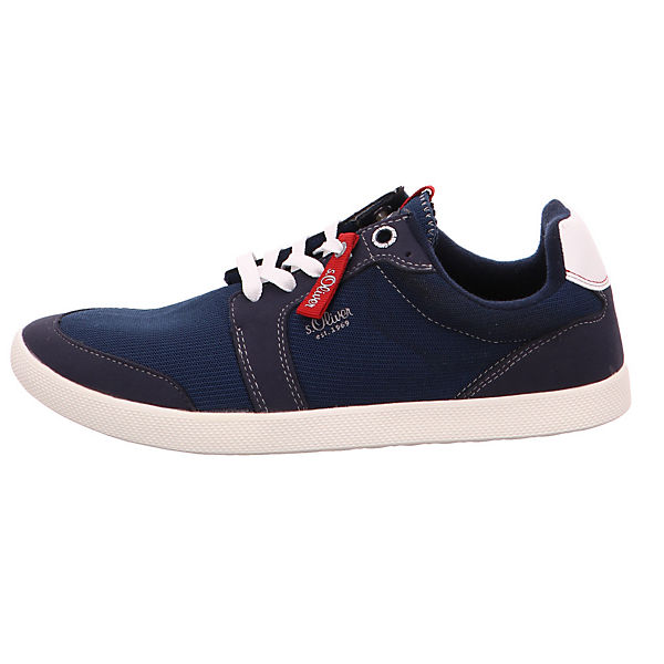 s.Oliver, Textil 13622/805 Sneakers  Low, blau  Sneakers  03f7bd