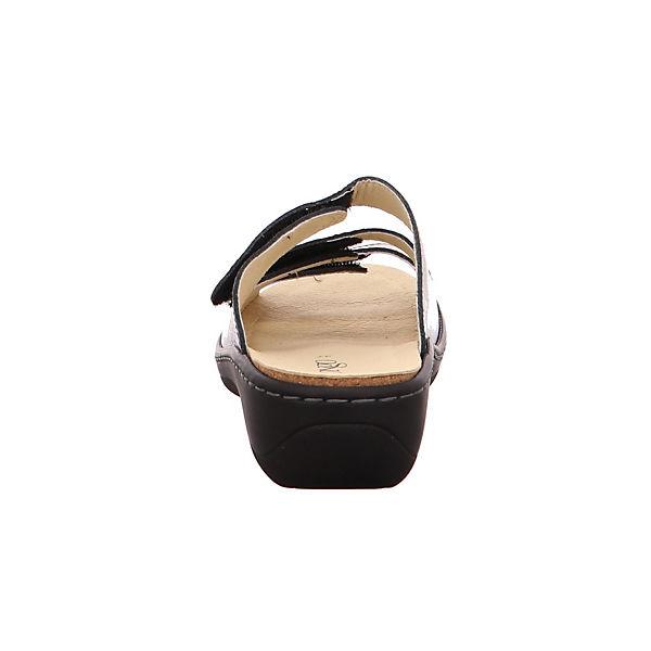 Longo, Komfort-Pantoletten, gold     54c761