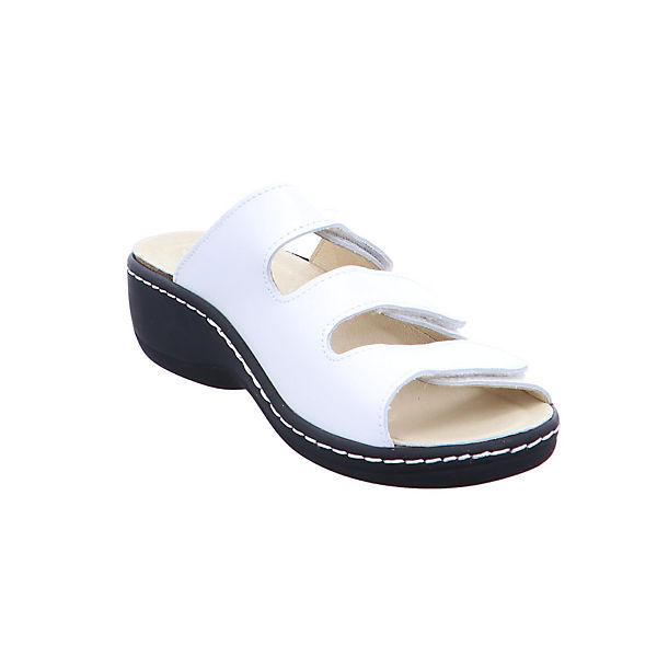 Longo, weiß Komfort-Pantoletten, weiß Longo,  Gute Qualität beliebte Schuhe cdaf1a