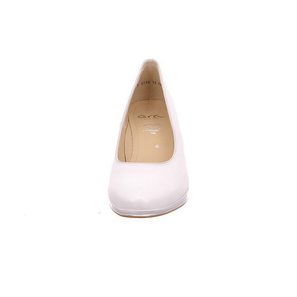 ara, Toulouse Perlato 12-23402-26 Klassische Pumps, weiß  Gute Qualität beliebte Schuhe