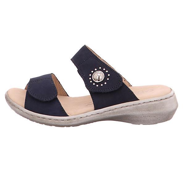 CAPRICE, NubukWeite Form 27205-810 Komfort-Pantoletten, beliebte blau  Gute Qualität beliebte Komfort-Pantoletten, Schuhe 454eac