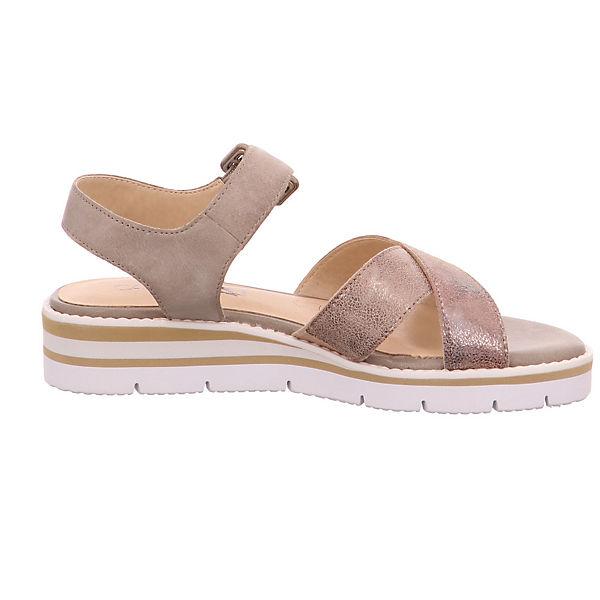 CAPRICE, Perlatound 28700-344 Klassische Sandalen, Gute beige  Gute Sandalen, Qualität beliebte Schuhe ebb7b9