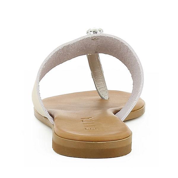 Evita Shoes, OLIMPIA Zehentrenner, beliebte champagner  Gute Qualität beliebte Zehentrenner, Schuhe 7c3537