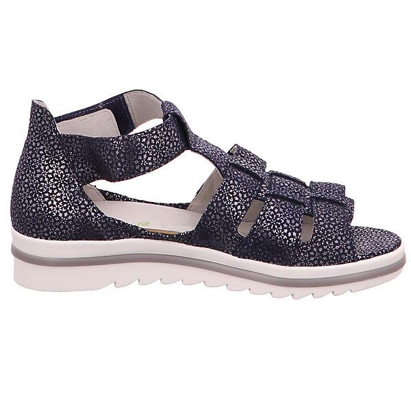 WALDLÄUFER, Hakura 351802/117194 Qualität Klassische Sandalen, blau  Gute Qualität 351802/117194 beliebte Schuhe e4749d