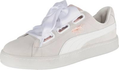 PUMA, Suede Heart Artica Sneakers Low, weiß
