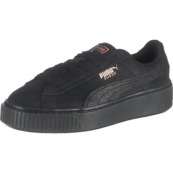 official photos 93769 e9c6e PUMA, Suede Platform Artica Sneakers Low, schwarz