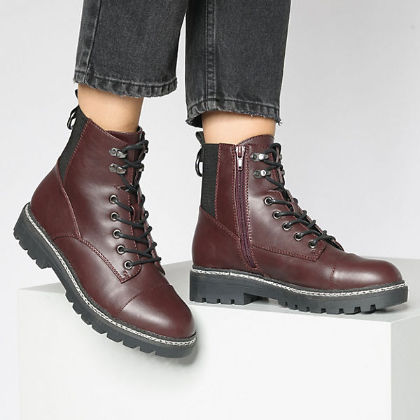 ONLY, Bex Winterstiefeletten, bordeaux  Gute Qualität beliebte Schuhe