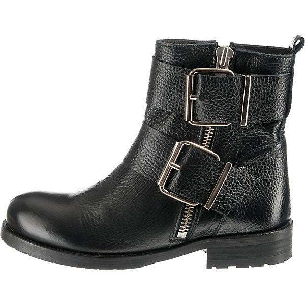 billi bi, Biker Qualität Boots, schwarz  Gute Qualität Biker beliebte Schuhe 1e59c1