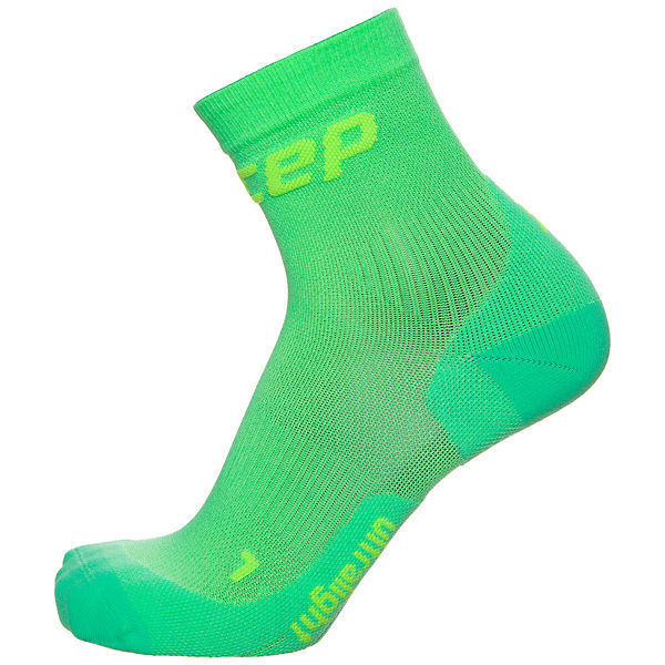 Herren Kompressionssocken Socks Ultralight grün Short CEP qZtI6q