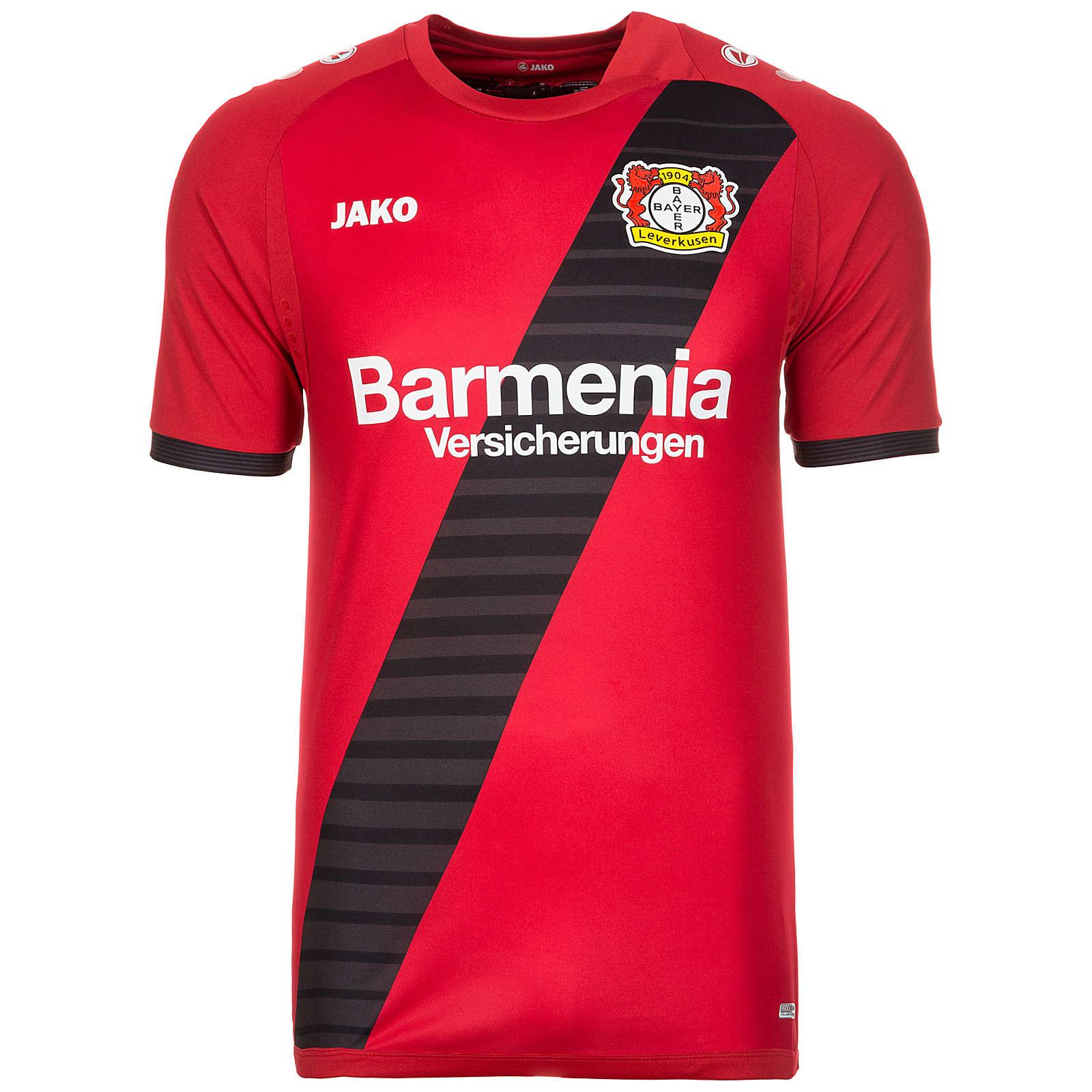 JAKO Bayer 04 Leverkusen Trikot Away 2017/2018 ...