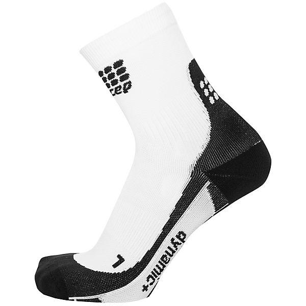 CEP Short Socks Kompressionssocken Herren weiß