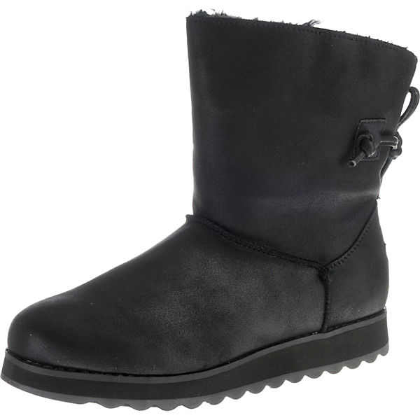 Keepsakes 2 Winterstiefel Schwarz nbsp;hearth 0 Skechers Xn0O8kwP