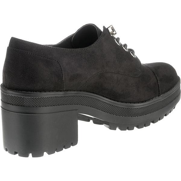 MTNG, Gute Mila Schnürschuhe, schwarz  Gute MTNG, Qualität beliebte Schuhe 9b2f66