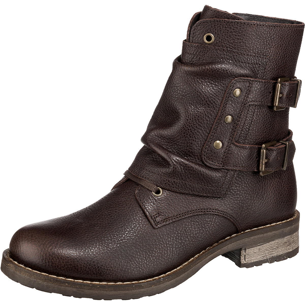 JOLANA & FENENA, Schnürstiefeletten, braun  Gute Qualität beliebte Schuhe