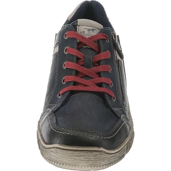 MUSTANG, Qualität Schnürschuhe, dunkelblau  Gute Qualität MUSTANG, beliebte Schuhe bb1d4e