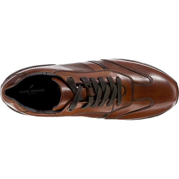 DANIEL HECHTER, HECHTER, HECHTER, Garlan Sneakers Low, cognac   d6df5f
