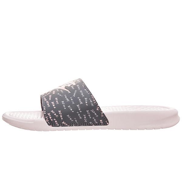 grau Sportswear rosa Nike Badelatschen Benassi 8qIWf