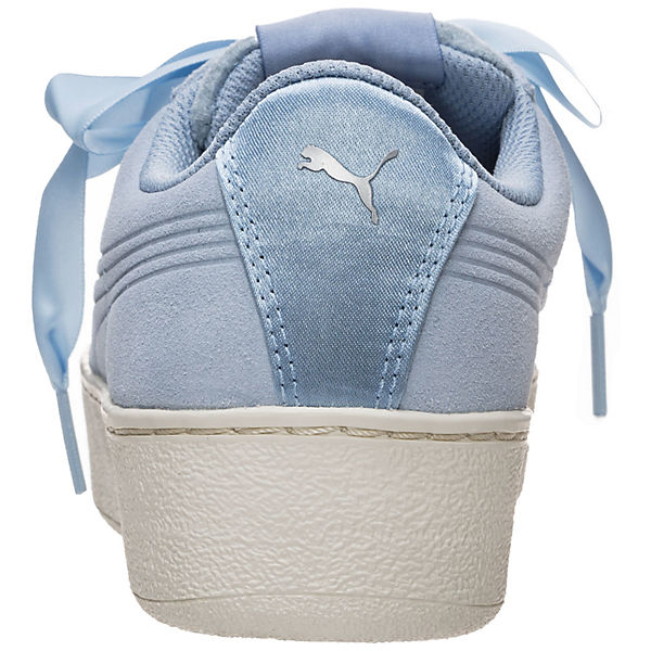 PUMA, Vikky Platform Ribbon Sneakers Niedrig, hellblau  Gute Qualität beliebte Schuhe