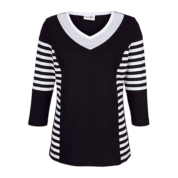 In 4 schwarz 3 Dress Armshirt 8wOqT0RO