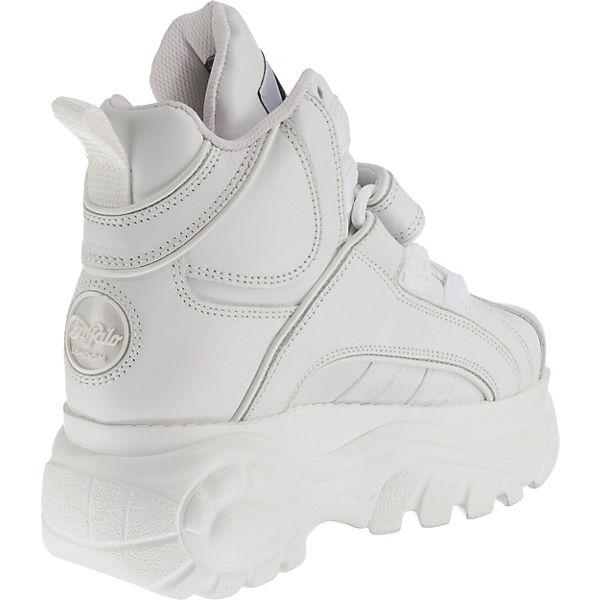 Sneakers London 1534041 High Buffalo Weiß rdCxoeB