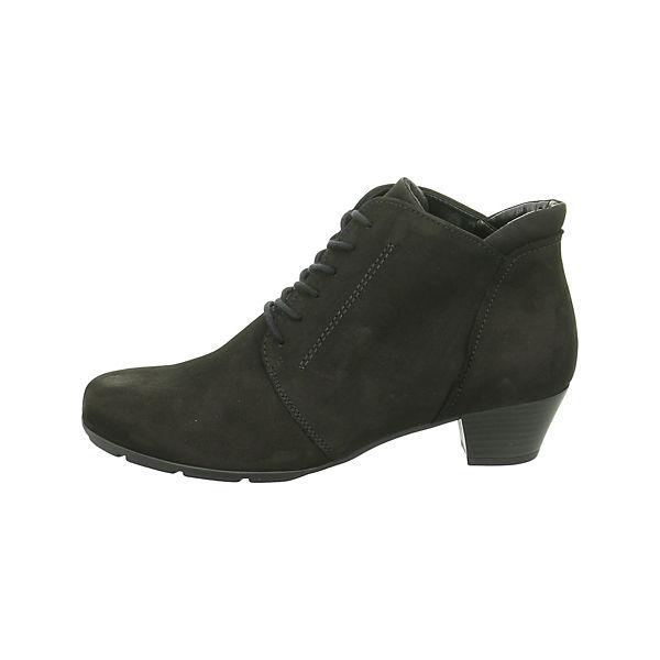 Gabor, Gabor, Gabor, Schnürstiefeletten, schwarz  Gute Qualität beliebte Schuhe 886acf