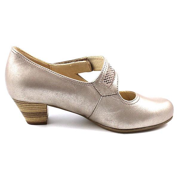 Gabor, Spangenpumps, beliebte bronze  Gute Qualität beliebte Spangenpumps, Schuhe 82b770