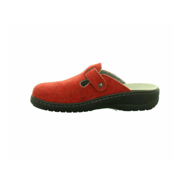 Longo, Komfort-Pantoletten, Komfort-Pantoletten, Komfort-Pantoletten, rot   39589d