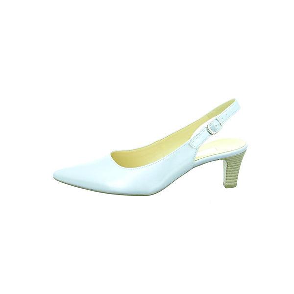 Gabor, Sling-Pumps, silber Gute Schuhe Qualität beliebte Schuhe Gute 550dbf dc0095b6bf
