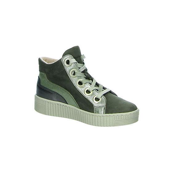 Gabor Gute Sneakers High grün  Gute Gabor Qualität beliebte Schuhe ec4b31