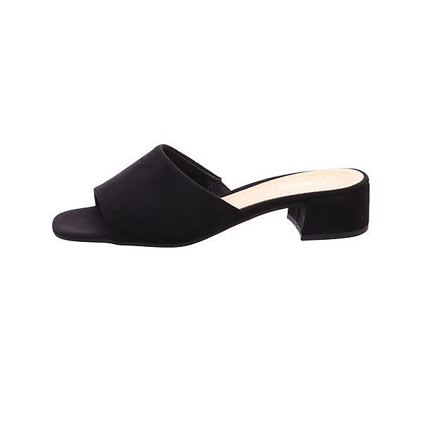 Gabor Pantoletten schwarz  Gute Qualität beliebte Schuhe