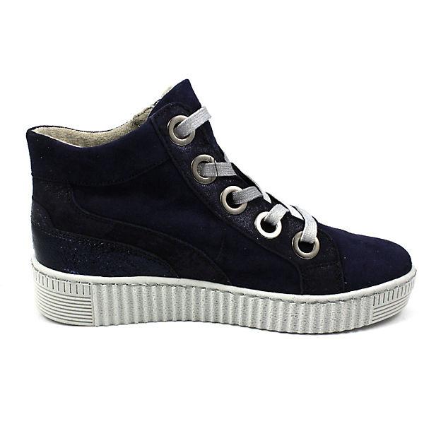 Gabor Gute Sneakers High blau  Gute Gabor Qualität beliebte Schuhe e2de07