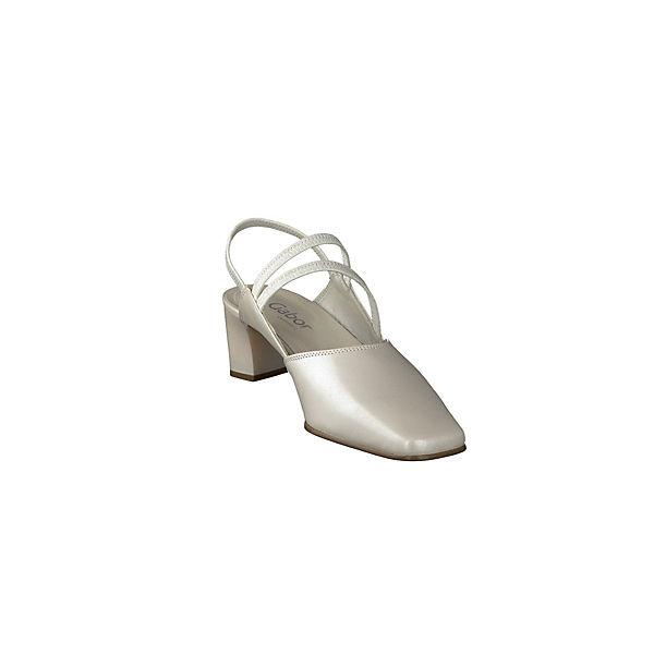 Gabor, Gute Klassische Pumps, weiß  Gute Gabor, Qualität beliebte Schuhe 9d8622