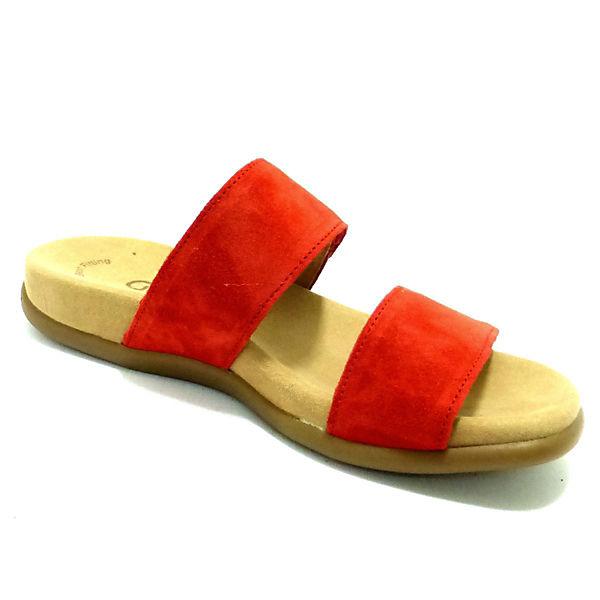 Gabor,  Pantoletten, rot  Gabor, Gute Qualität beliebte Schuhe cb416c