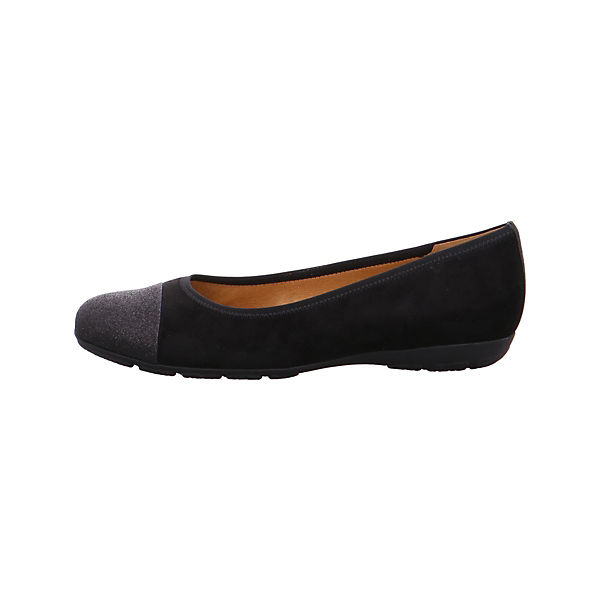 Gabor, Klassische Ballerinas, schwarz Schuhe  Gute Qualität beliebte Schuhe schwarz bd18f3