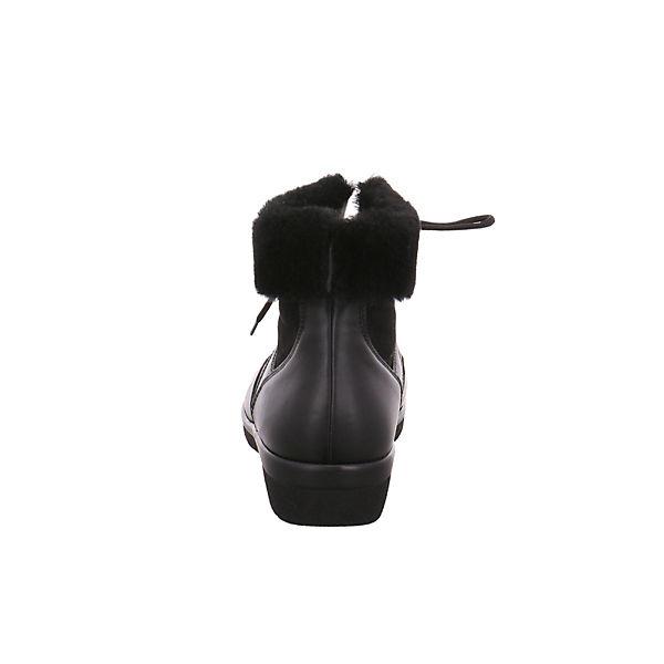 Ganter, Schnürstiefeletten, schwarz     63ac56