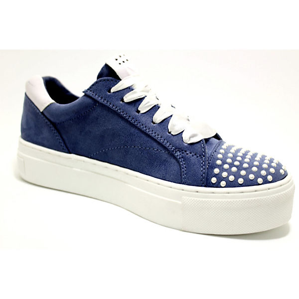 Low Sneakers MARCO TOZZI Sneakers MARCO Low MARCO blau Sneakers TOZZI blau TOZZI blau Low fxx57qP1