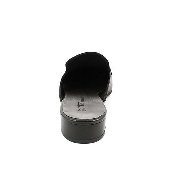 Tamaris, Pantoletten, beliebte schwarz  Gute Qualität beliebte Pantoletten, Schuhe 413cdf