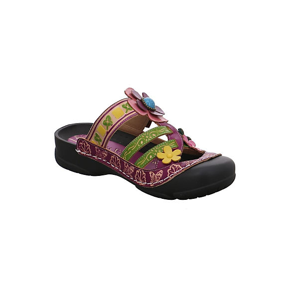 Laura Vita, Pantoletten, rot beliebte  Gute Qualität beliebte rot Schuhe 454e57