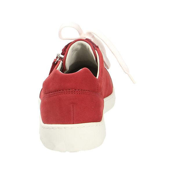 WALDLÄUFER, Sneakers Qualität Low, rot  Gute Qualität Sneakers beliebte Schuhe 891ee0