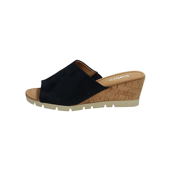 Gabor, Qualität Pantoletten, blau  Gute Qualität Gabor, beliebte Schuhe 925ef3