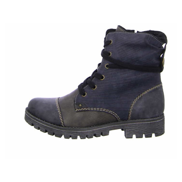Rieker, Schnürstiefeletten, beliebte grau  Gute Qualität beliebte Schnürstiefeletten, Schuhe ad7526