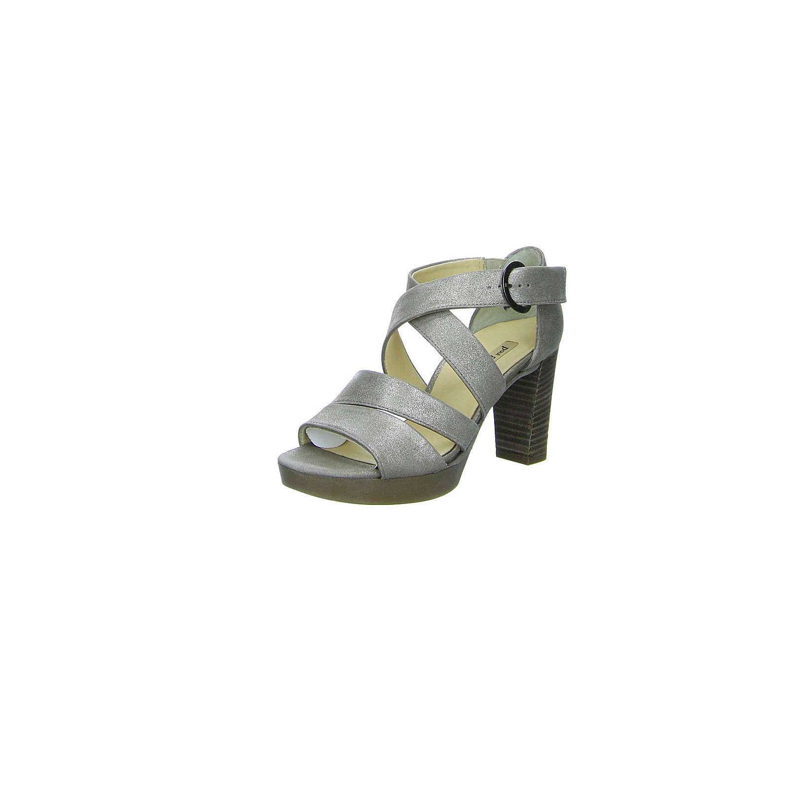 Paul Green Klassische Sandaletten beige Damen Gr. 38,5