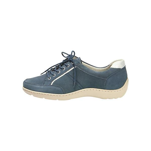 WALDLÄUFER, Komfort-Halbschuhe, blau  Gute Qualität beliebte Schuhe