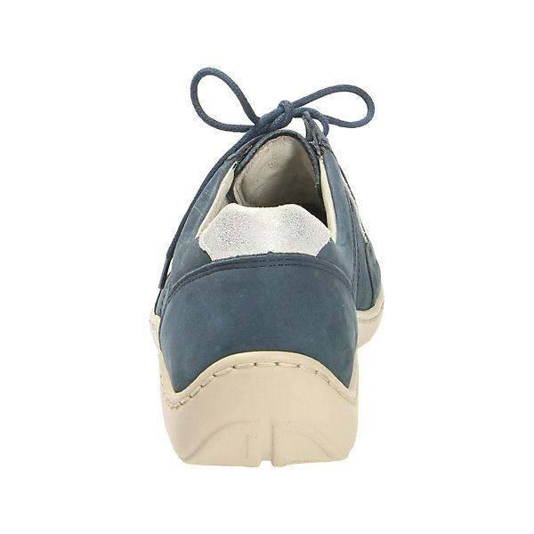 WALDLÄUFER  Komfort-Halbschuhe blau  WALDLÄUFER Gute Qualität beliebte Schuhe 558ecb