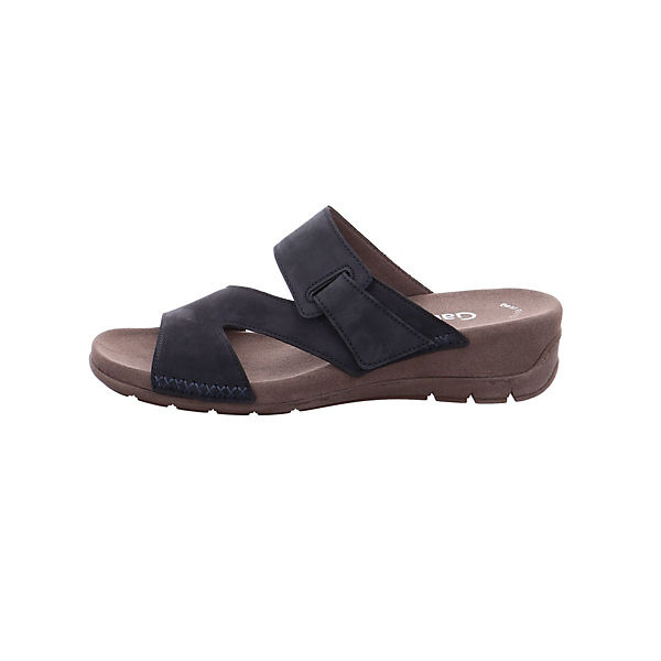 Gabor, Komfort-Pantoletten, dunkelblau Schuhe  Gute Qualität beliebte Schuhe dunkelblau 1b5c67