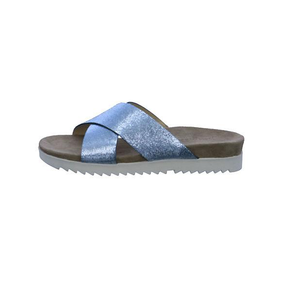 Paul Green Pantoletten blau  Gute Qualität beliebte Schuhe