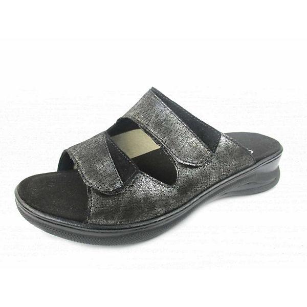 Fidelio schwarz Pantoletten Komfort Komfort Fidelio qxw4RYO