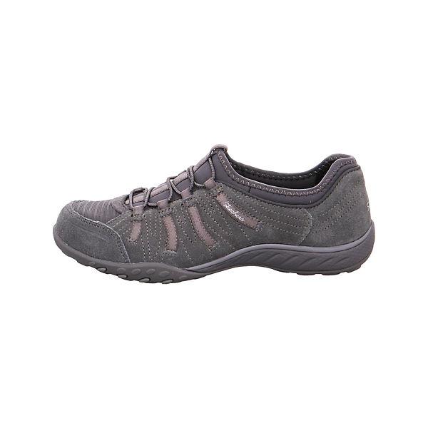 SKECHERS, Schnürschuhe, grau  Gute Qualität beliebte Schuhe