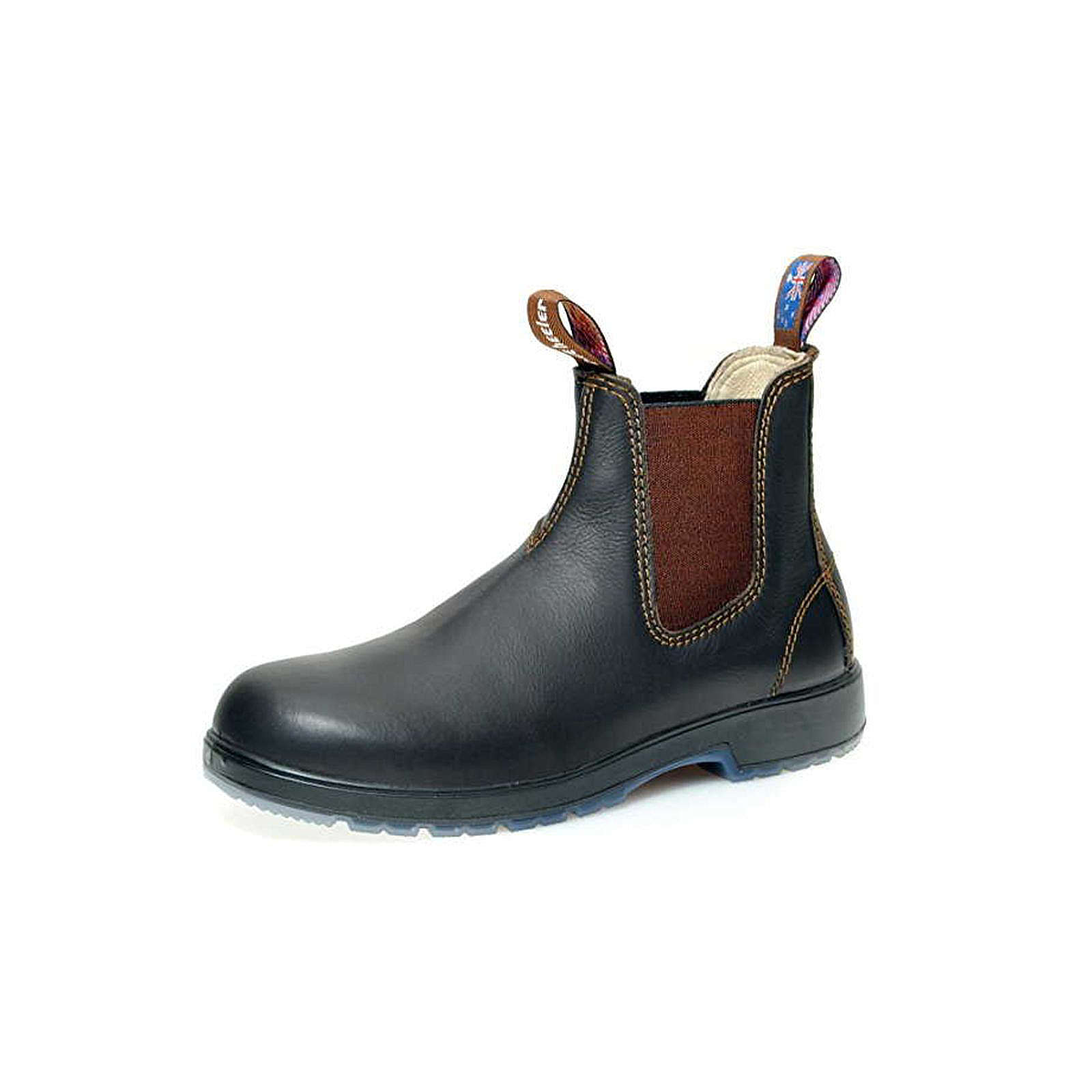 Blue heller Chelsea Boots dunkelbraun Damen Gr. 44